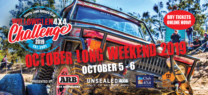 willowglen challenge 4wd competition event tickets